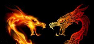 ריבים בזוגיות כמו שני דרקונים